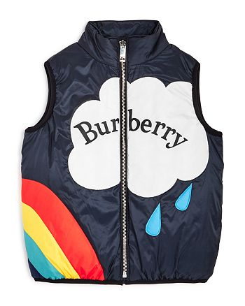 Burberry - Girls' Rene Down Vest - Little Kid, Big Kid
