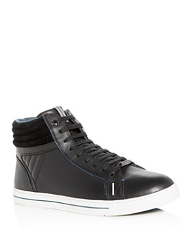 Ted Baker - Men's Glyburt Leather High-Top Sneakers - 100% Exclusive