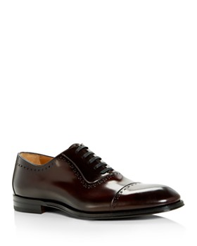 Bruno Magli - Men's Lucca Leather Brogue Cap Toe Oxfords