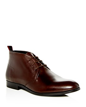 HUGO - Men's Leather Chukka Boots