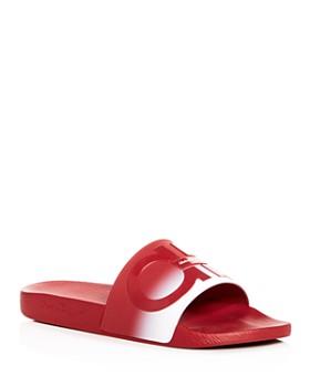 5085c29f9cd Salvatore Ferragamo - Men s Groove Slide Sandals - 100% Exclusive ...