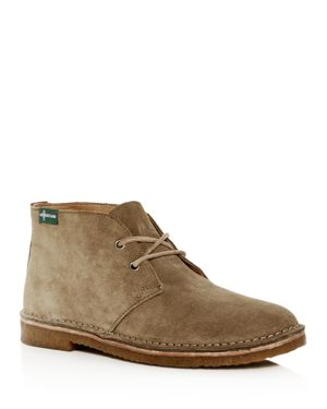EASTLAND EDITION Eastland 1955 Edition Men'S Hull 1955 Suede Chukka Boots in Khaki Suede