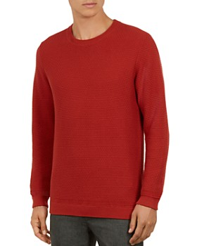 Ted Baker - Percypi Textured Crewneck Sweater
