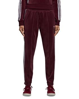 Adidas - Velour Track Pants