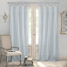 Elrene Home Fashions - Jolie Semi-Sheer Pleated Curtain Collection