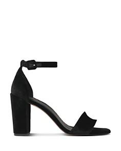 Whistles - Women's Hedda Velvet Block Heel Sandal