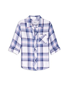 Rails - Girls' Hudson Plaid Shirt - Big Kid