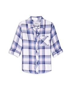 Rails - Girls' Hudson Plaid Shirt - Big Kid