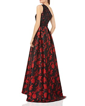 Carmen Marc Valvo - Embellished One-Shoulder Ball Gown