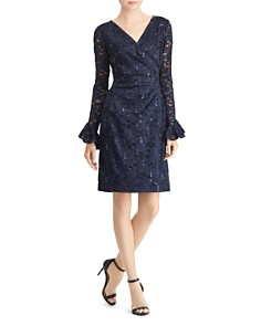 Ralph Lauren - Sequined Lace Dress