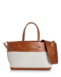 VASIC - Carries Mini Leather & Canvas Tote