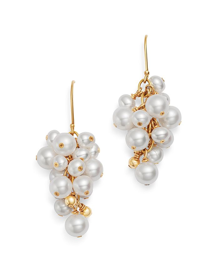 02c497525 Bloomingdale's - Cultured Freshwater Pearl Cluster Drop Earrings in 14K  Yellow Gold - 100% Exclusive