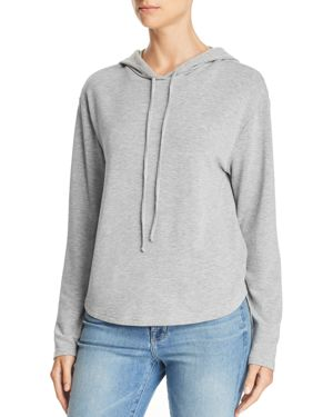 MICHELLE BY COMUNE Michelle By Comune Glenoma Hooded Sweatshirt in Heather Gray