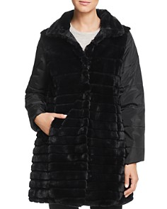Via Spiga - Reversible Faux Fur Coat