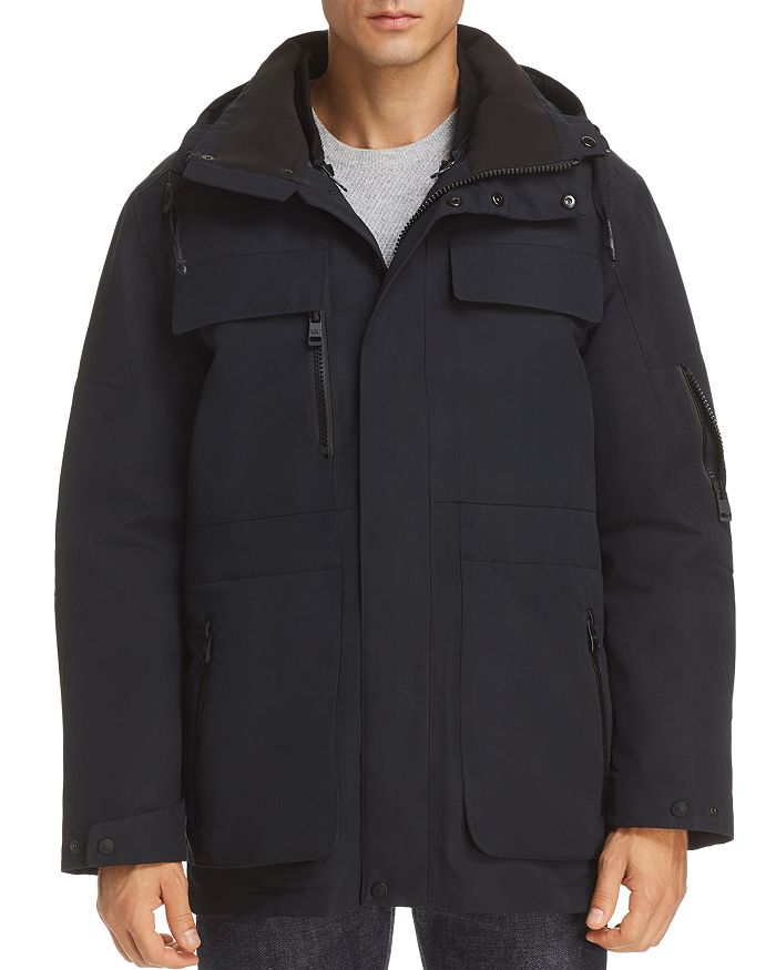 Andrew Marc - Hamilton Systems Fur-Trimmed 3-in-1 Jacket