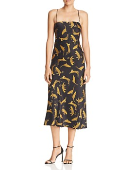 Bec & Bridge - Conga Beat Printed Silk Midi Dress