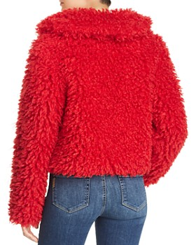 Keepsake - Lionheart Cropped Teddy Bear Coat
