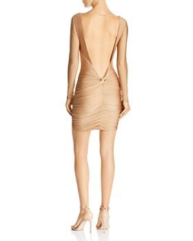 Tiger Mist - Olivia Open-Back Ruched Mini Dress