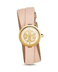 Tory Burch - The Reva Pink Wrap Strap Watch, 28mm