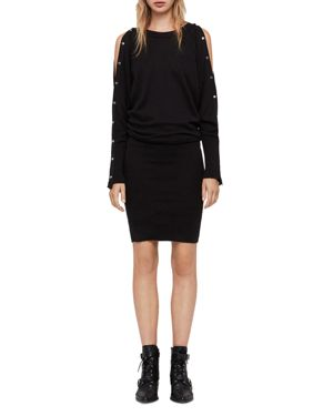 Allsaints Suzie Snap-Sleeve Sweater Dress