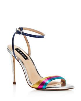 AQUA - Women's Kiki Rainbow High-Heel Sandals - 100% Exclusive