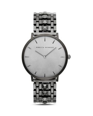 Rebecca Minkoff Major Stud Link Watch, 40mm