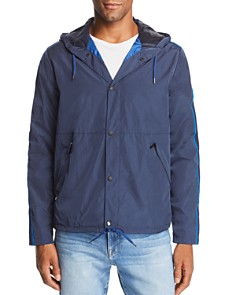 PS Paul Smith - Tape Stripe-Trimmed Anorak Jacket