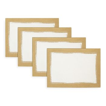 Villeroy & Boch - Metallic Brushstroke Placemats, Set of 4