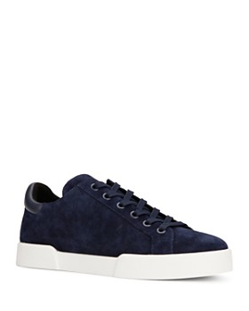Kenneth Cole - Women's Tyler Round Toe Suede Lace Up Sneakers