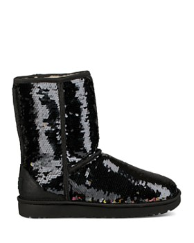 UGG® - Women's Classic Round Toe Sequin Short Boots