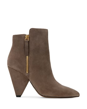 Kenneth Cole - Women's Galway Pointed Toe Double Zip Booties