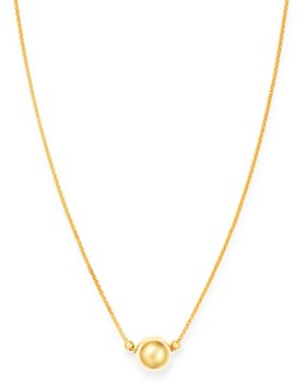 """Bloomingdale's - Ball Pendant Necklace in 14K Yellow Gold, 18"""" - 100% Exclusive"""