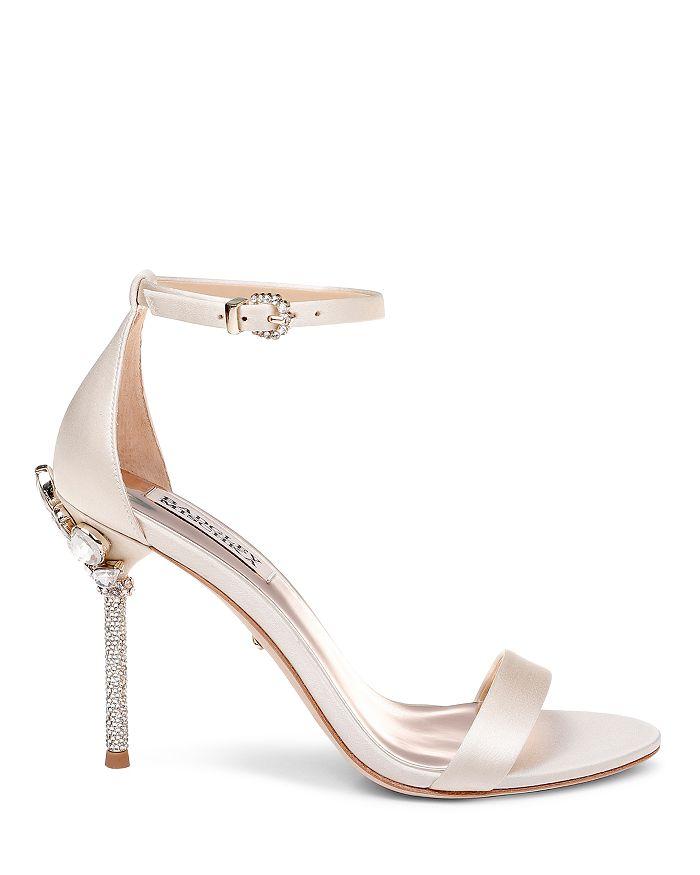 541be31130be Badgley Mischka Women s Vicia Embellished Satin High-Heel Sandals ...