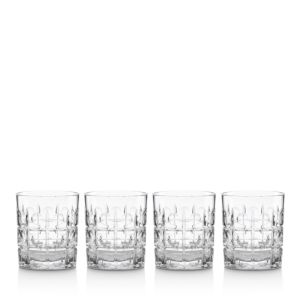 Reed & Barton Odeon Double Old-Fashioned Glass, Set of 4