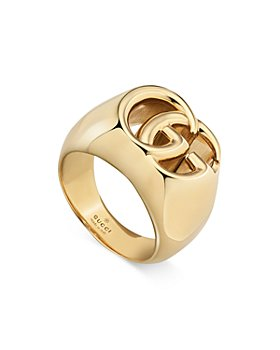 Gucci - 18K Yellow Gold GG Band