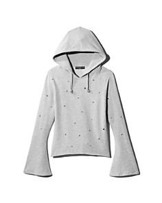 Generation Love - Storm Embellished Bell-Sleeve Sweatshirt