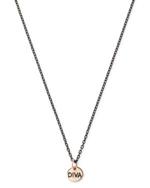 Dodo Diva Pendant Necklace, 19