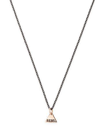 "Dodo - Rebel Pendant Necklace, 19"""