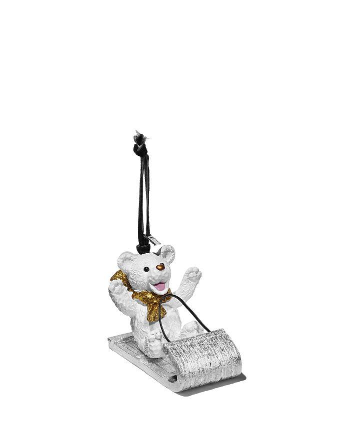 Michael Aram - Sledding Teddy Ornament