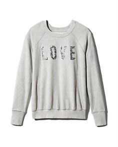 Sundry - Love Embellished Sweatshirt