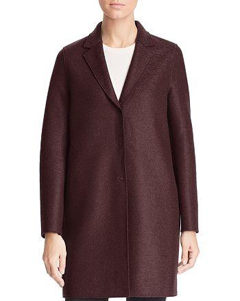HARRIS WHARF - Virgin Wool Overcoat