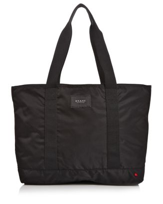 Graham Large Nylon Weekender Tote by State