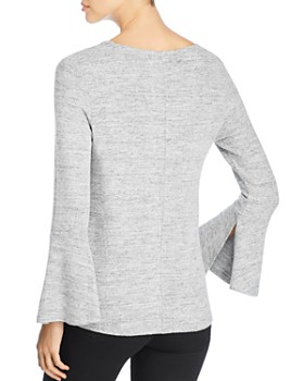 Coin - Brushed Bell-Sleeve Top