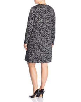 Estelle Plus - Leopard-Print Shift Dress