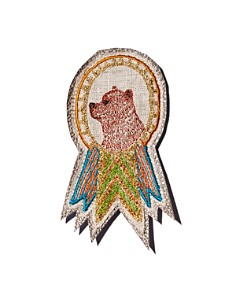 Coral & Tusk - Bear Embroidered Badge