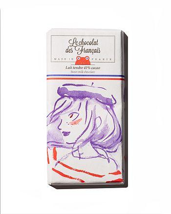 Le Chocolat des Francais - Sweet Milk Chocolate Bar