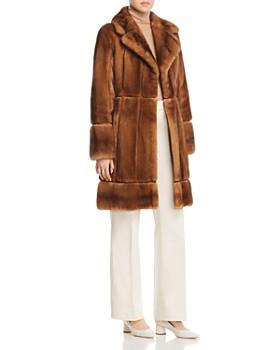 Maximilian Furs - x Zac Posen Mink Fur Coat - 100% Exclusive