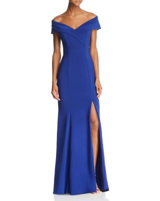 Off The Shoulder Gown   100 Percents Exclusive by Aqua