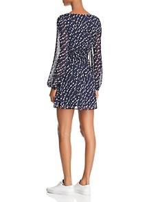 Sage the Label - Star Girl Printed Smocked Mini Dress