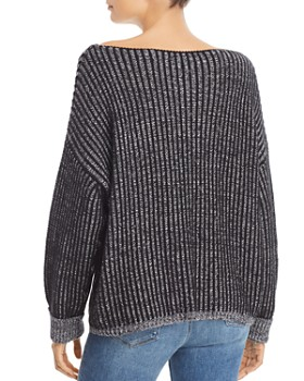 FRENCH CONNECTION - Original Mozart Chunky Ribbed Knit Sweater